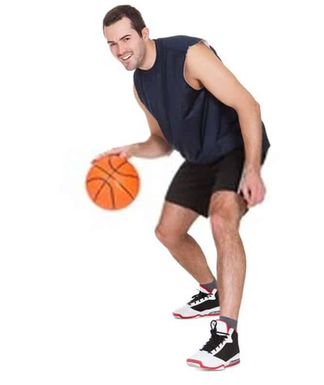 Keep Your Eyes Straight to driblle better in basketball