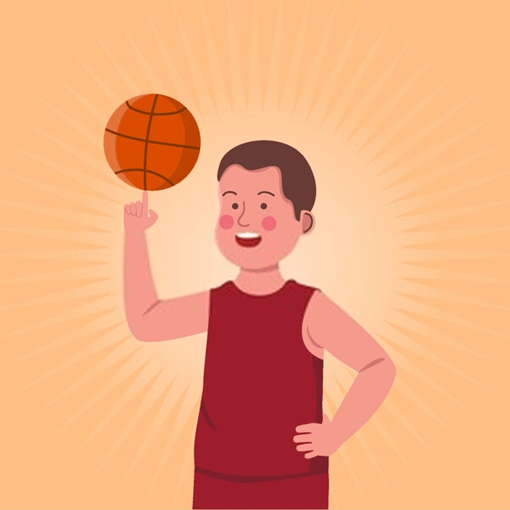 Learn to Toss- how to spin basketball